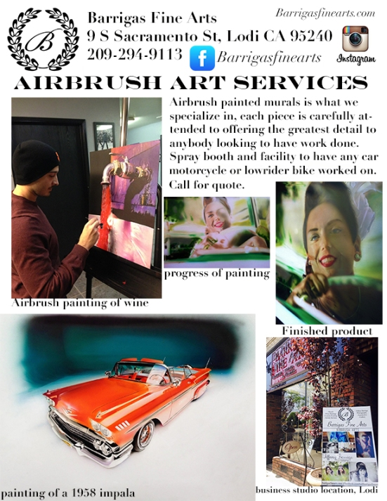 airbrush services advertisement 2