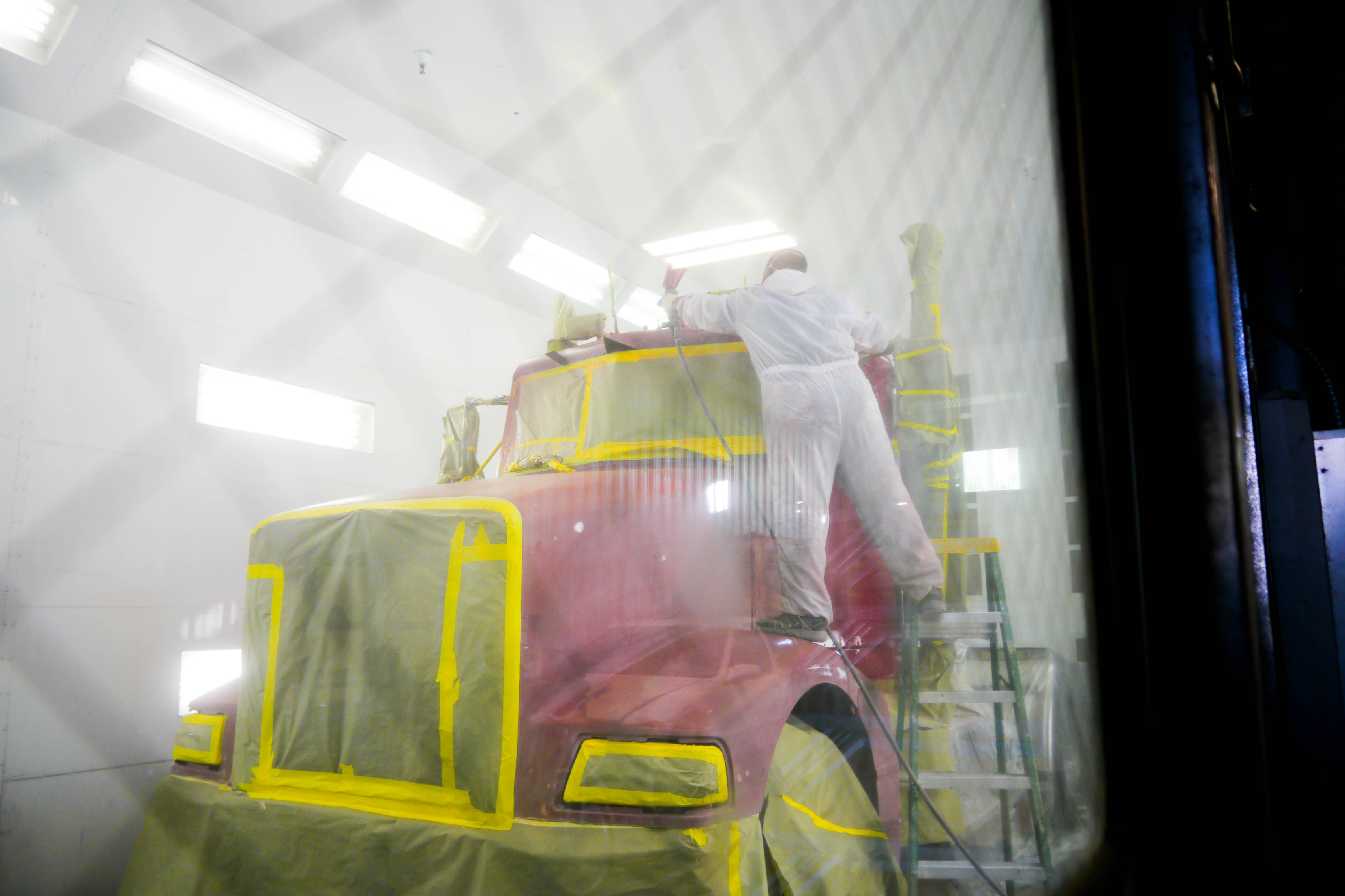 Paint Booth Rental >> Booth Rental Touch Of Class Auto Body Paint